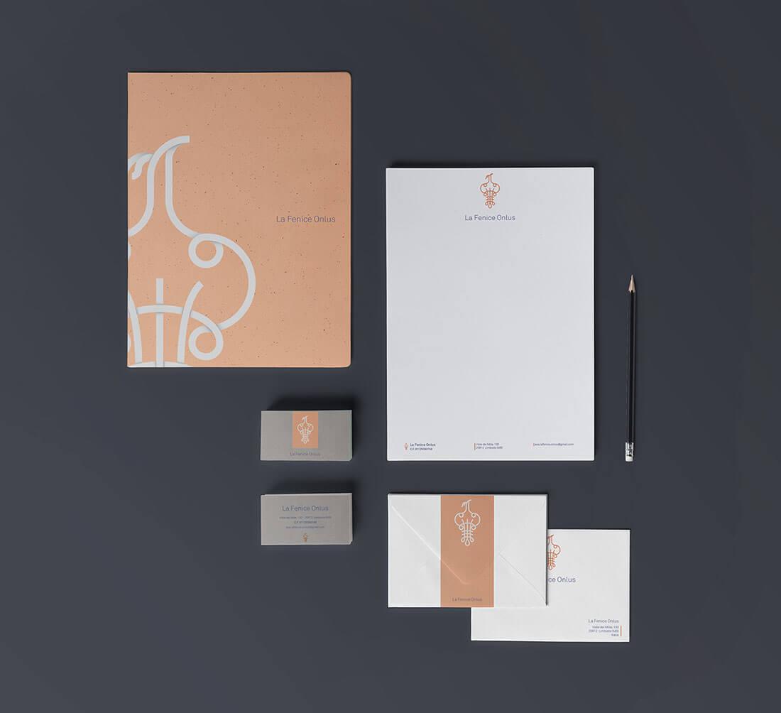 Brand identity per La Fenice Onlus