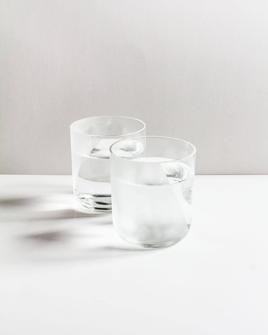 La tavola dei sensi, esercizi progettuali sugli oggetti per la tavola, bicchieri