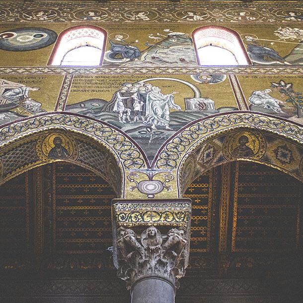 portfolio fotografico di Marianna Milione, mosaico di Monreale