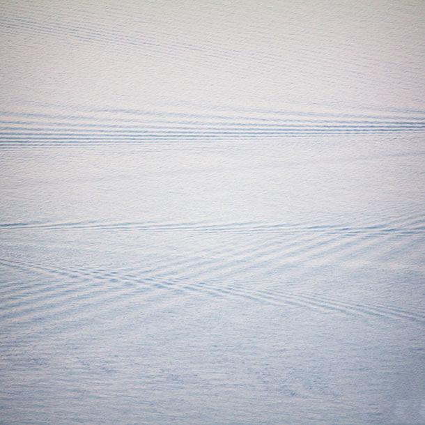 portfolio fotografico di Marianna Milione, scie in mare calmo