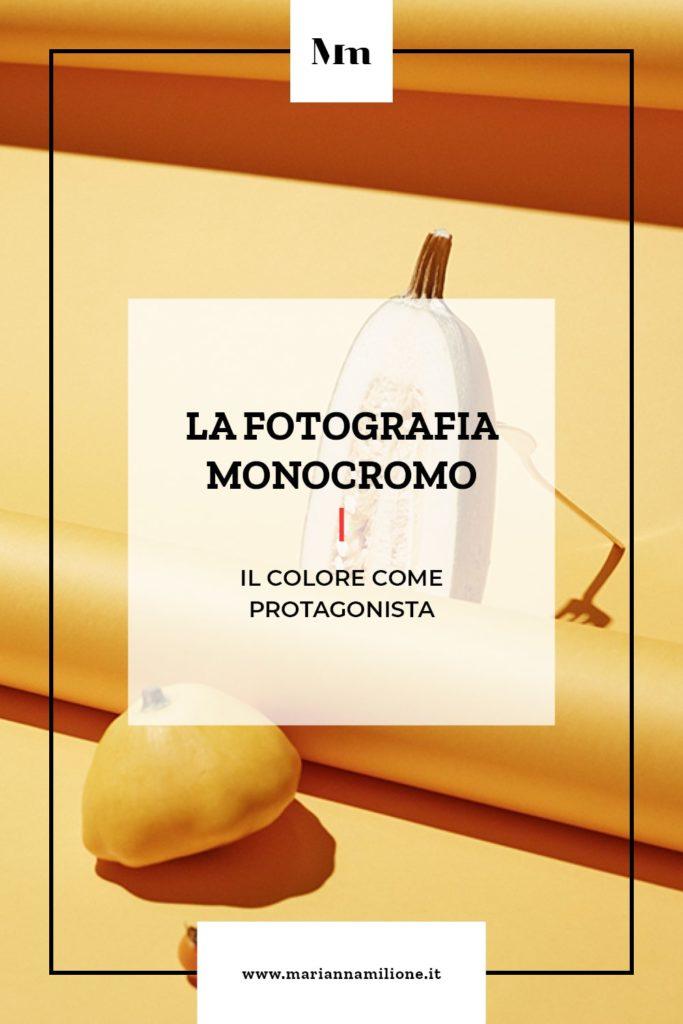 La fotografia monocromo. Dal blog di Marianna Milione