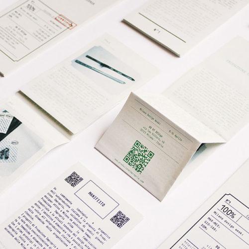 Brand identity, flyer, brochure per Produzione Impropria