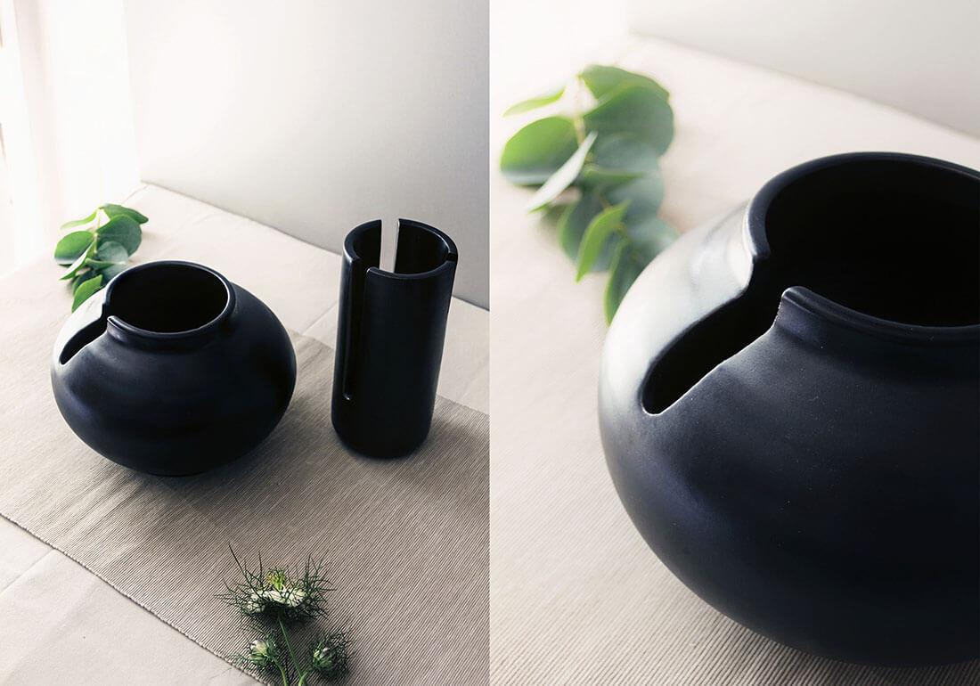 Gallery of flora collection vasi decorativi con tagli by for Vasi decorativi da interno
