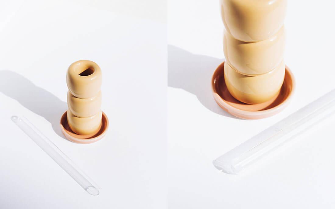 Un fiorellino, piccolo vaso decorativo by Marianna Milione designer