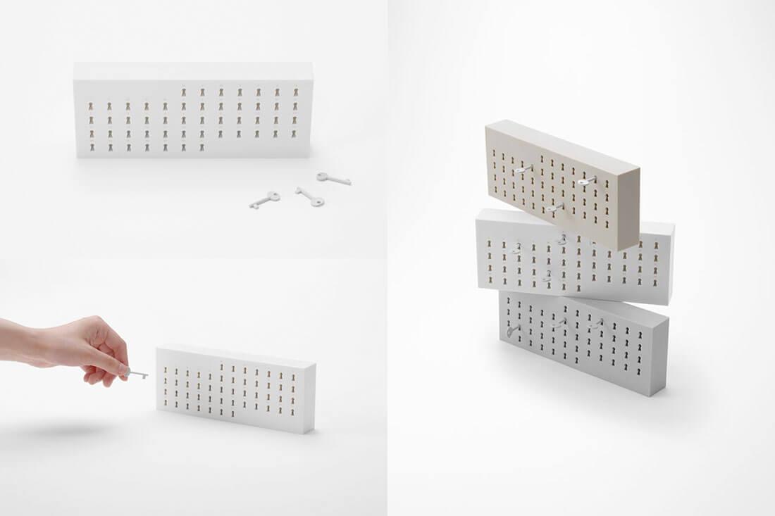 Calendari di design. Key-calendar design Nendo per I.D.E.A International