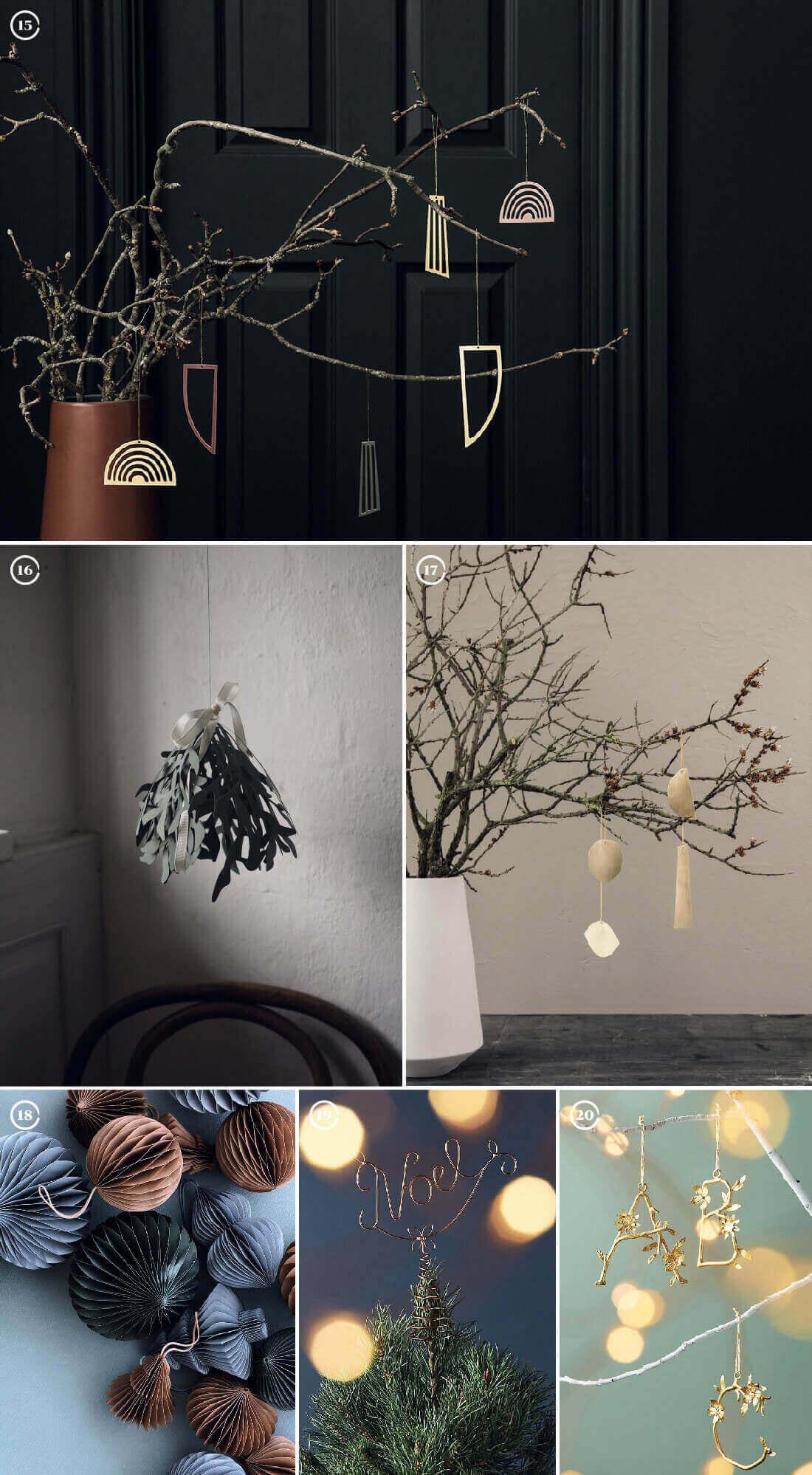 Decorazioni natalizie: decori e ornamenti per l'albero di natale