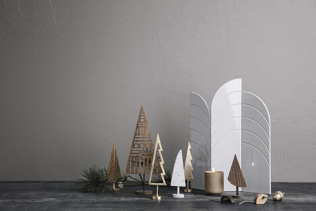 Decorazioni natalizie del brand di design Ferm Living