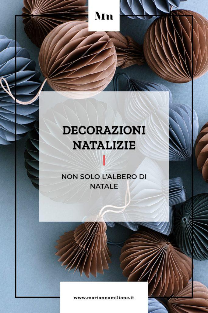 Decorazioni natalizie. Dal blog di Marianna Milione