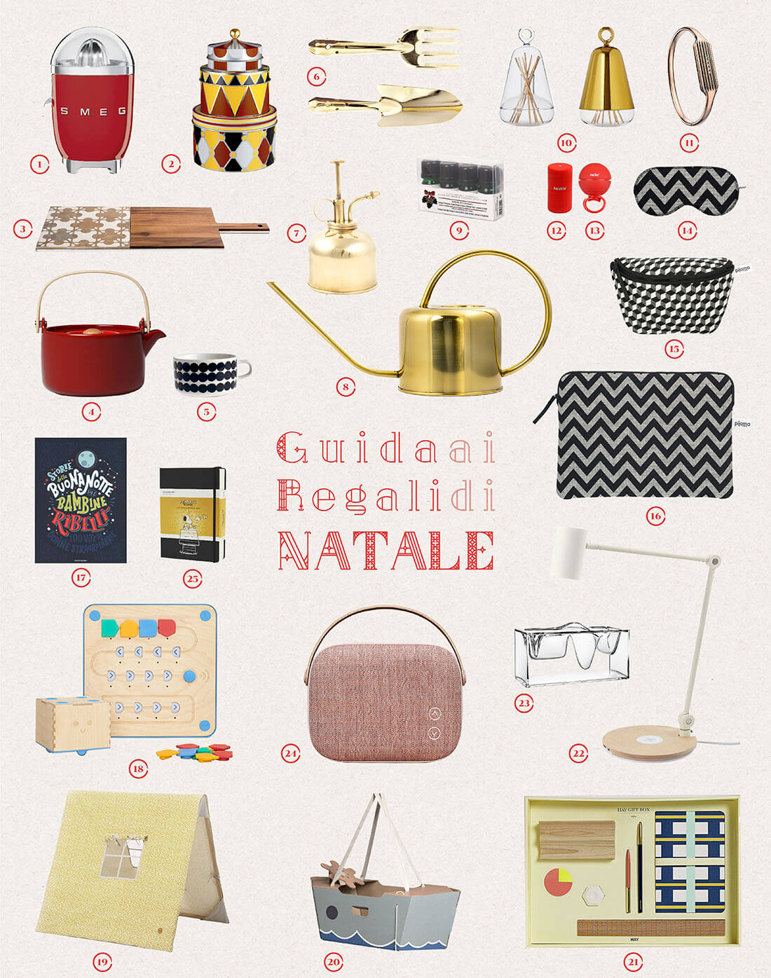 Guida ai regali di design per natale 2017 design for Regali natale design