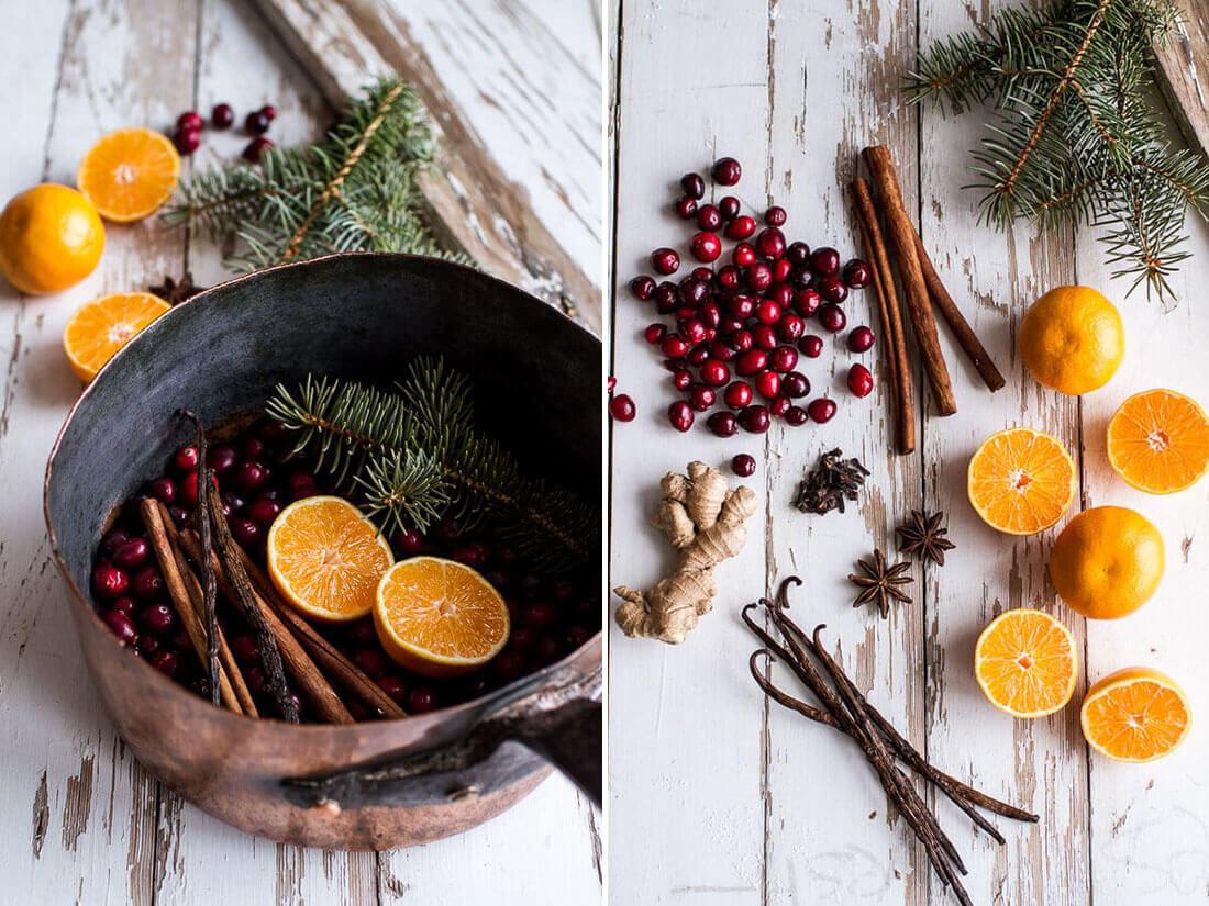 Idee fai da te per natale, profumo natalizio. Fonte Half baked harvest