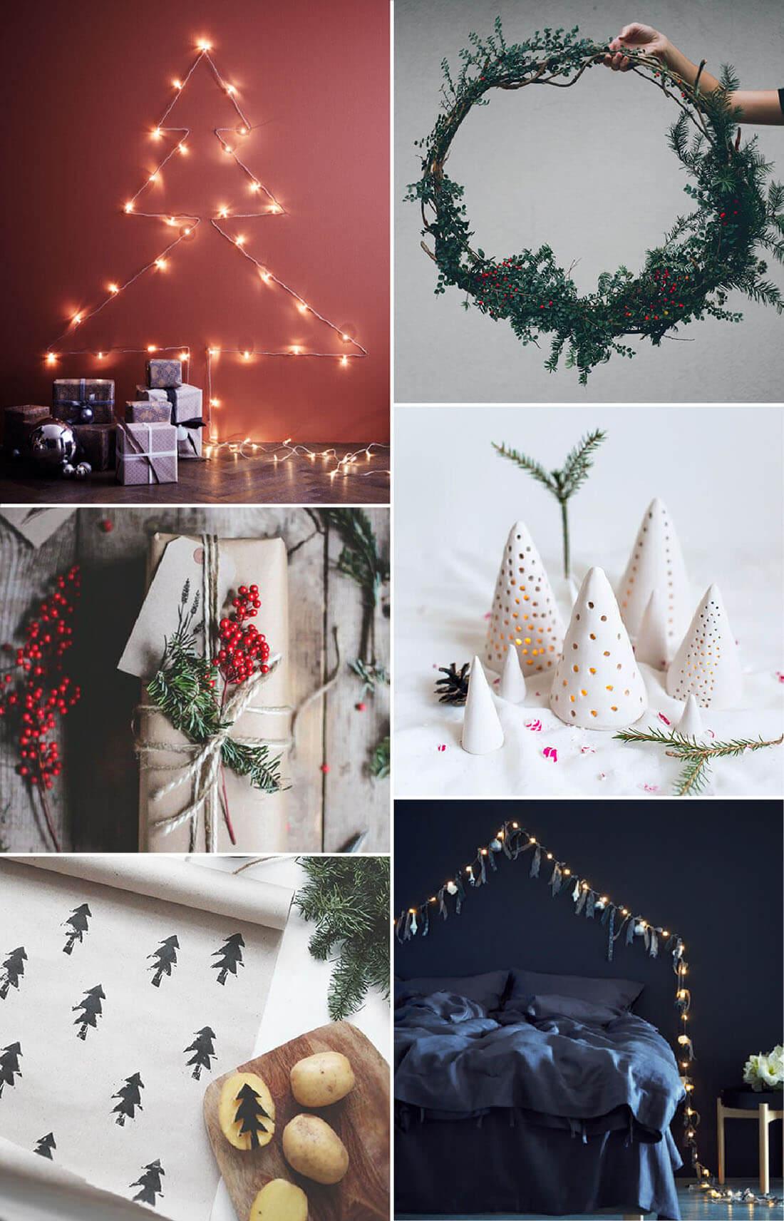 Decorazioni Natalizie Con La Carta Fai Da Te.10 Decorazioni Fai Da Te Per Natale Diy Marianna Milione