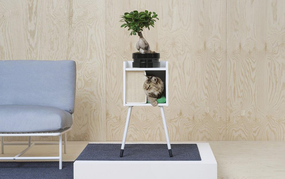 La nuova collezione Lurvig IKEA per cani e gatti, mobile casetta