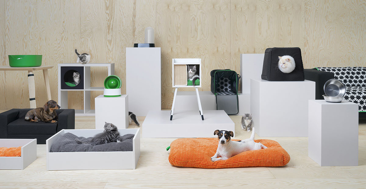 La nuova collezione Lurvig IKEA per cani e gatti