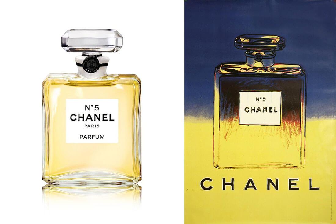 Storia e design di packaging vintage, profumo Chanel N°5