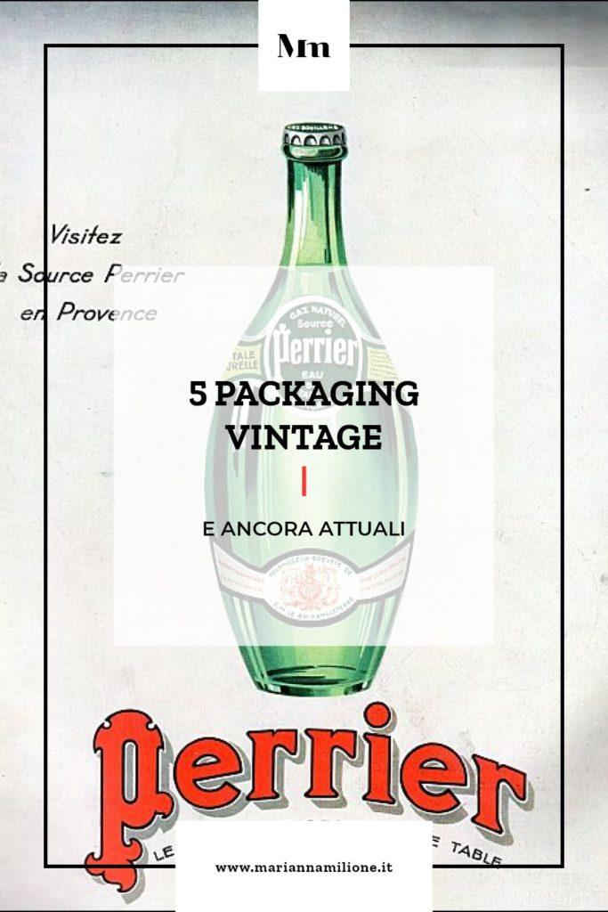 Storia e design di packaging vintage. Dal blog di Marianna Milione