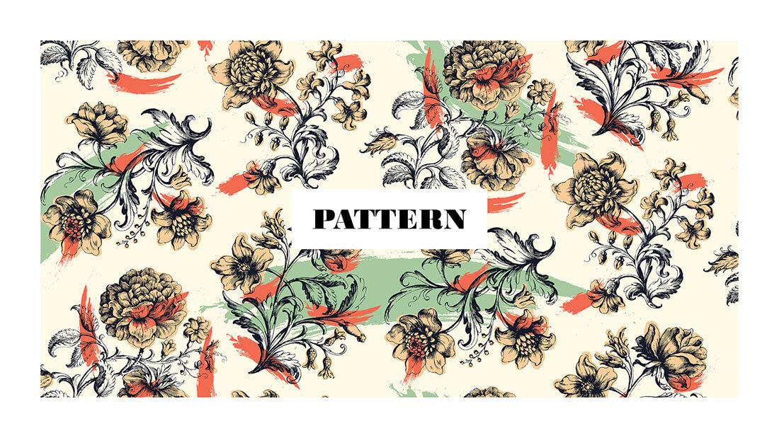 Pattern Nuovo Rinascimento, collezione Firenze 103, realizzato per il concorso Textile designer di Ambienti Roma. Design by Marianna Milione