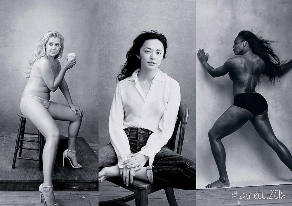 Be Woman Be Creative Annie Leibovitz fotografa, calendario Pirelli 2016