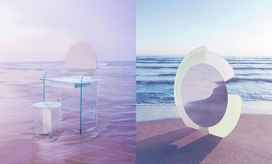 Be Woman Be Creative Cristina Celestino architetta e designer, collezione Opalina per Tonelli Design