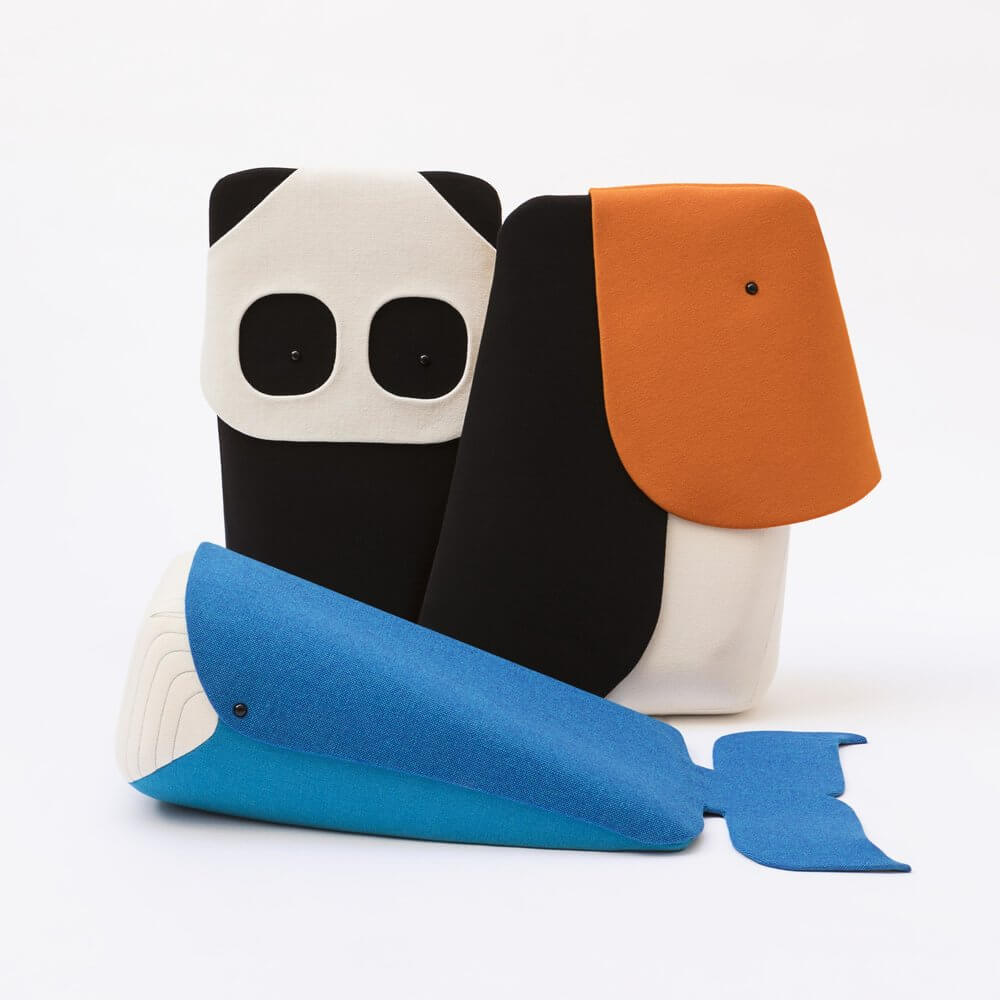 Be Woman Be Creative Ionna Vautrin product designer, peluche zoo per Elements Optimal