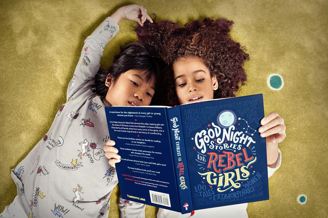 Be Woman Be Creative Elena Favilli e Francesca Cavallo autrici del libro Storie della buonanotte per Bambine Ribelli, foto di Sara Scamarcia