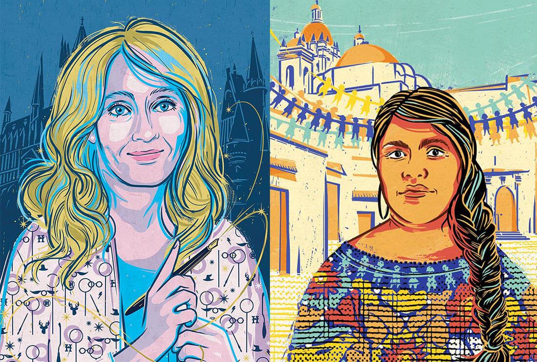 Be Woman Be Creative Elena Favilli e Francesca Cavallo autrici del libro Storie della buonanotte per Bambine Ribelli, illustrazioni di Paola Rollo