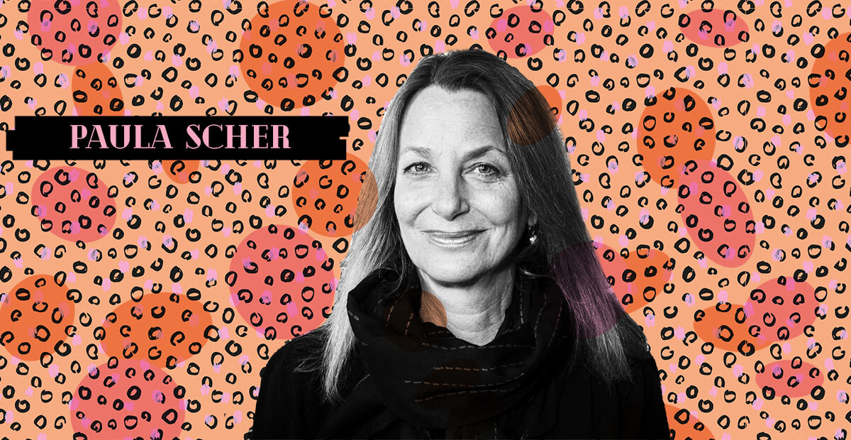 Be Woman Be Creative Paula Scher graphic designer