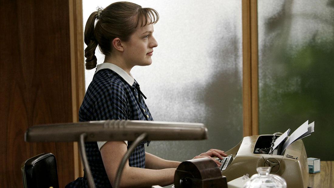 Be Woman Be Creative Peggy Olson copywriter, personaggio di Mad Men, stagione 1