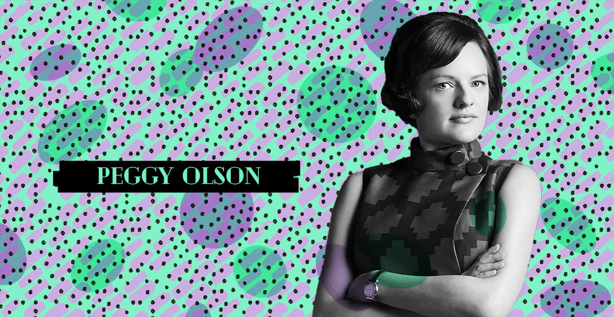 Be Woman Be Creative Peggy Olson copywriter, personaggio di Mad Men