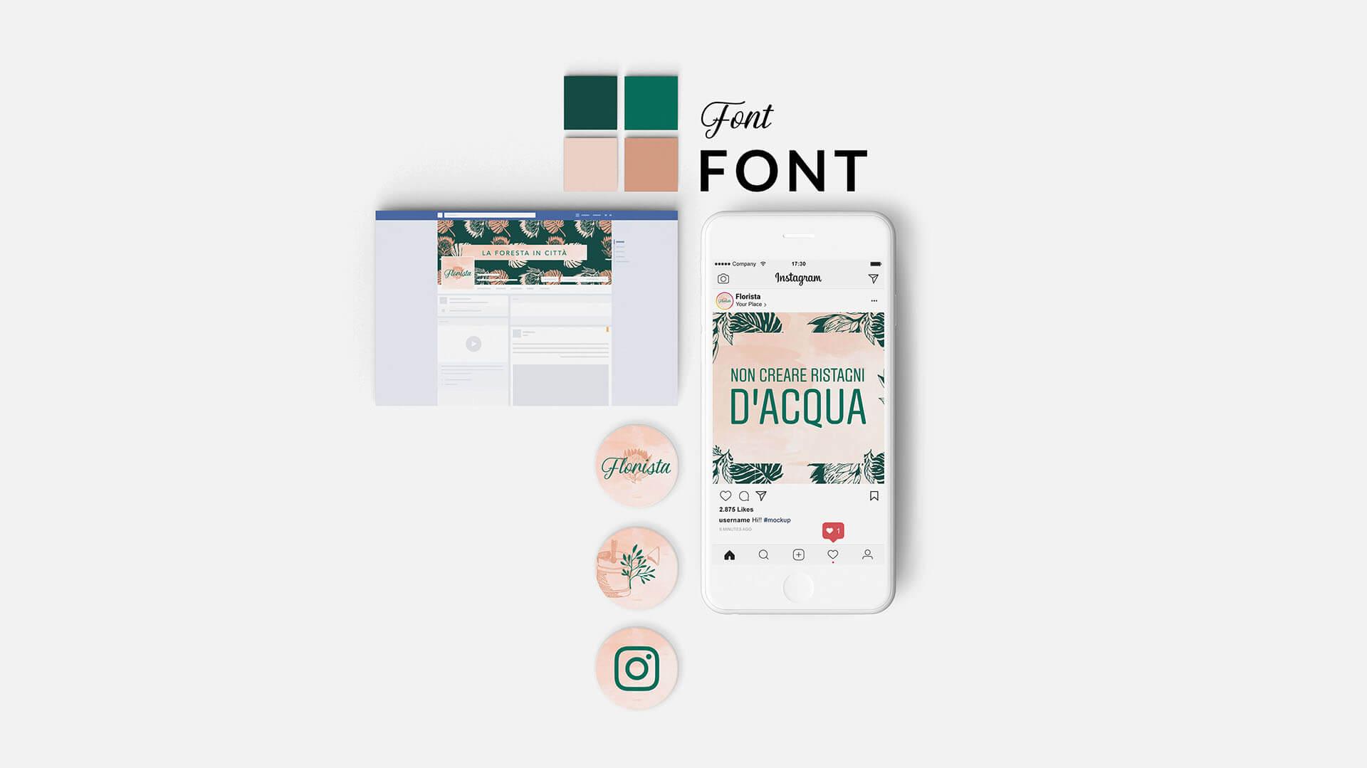 Esempio del pacchetto pixel, servizi di grafica, Marianna Milione designer