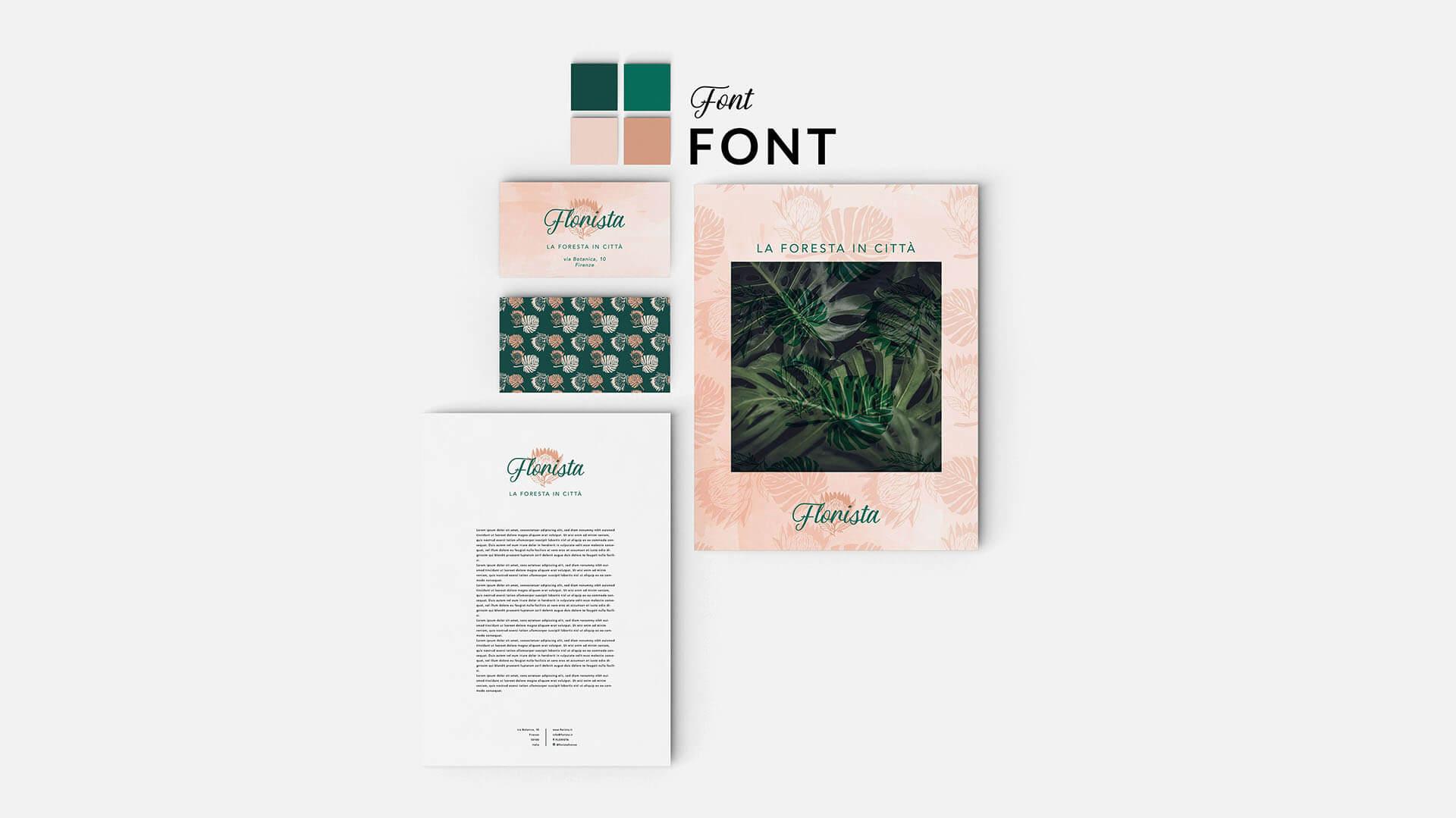 Esempio del pacchetto matita, servizi di grafica, Marianna Milione designer