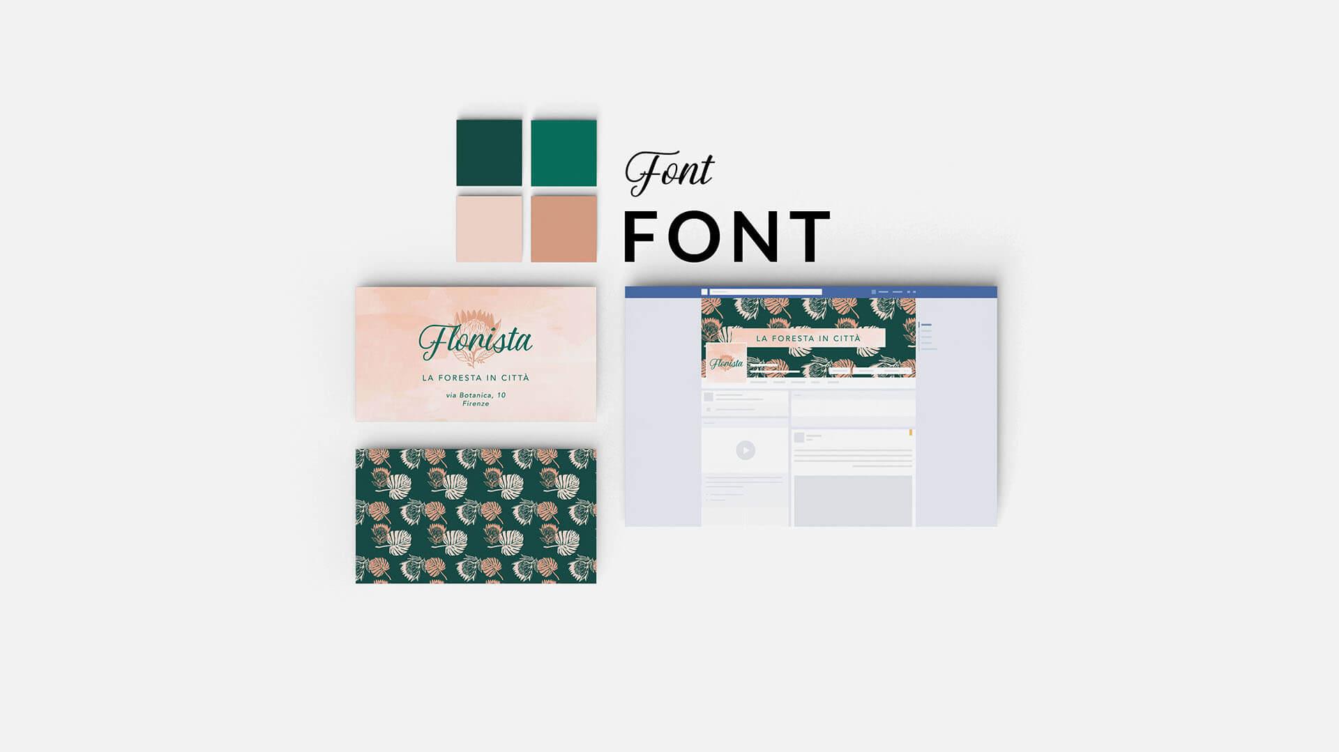 Esempio del pacchetto radici, servizi di grafica, Marianna Milione designer