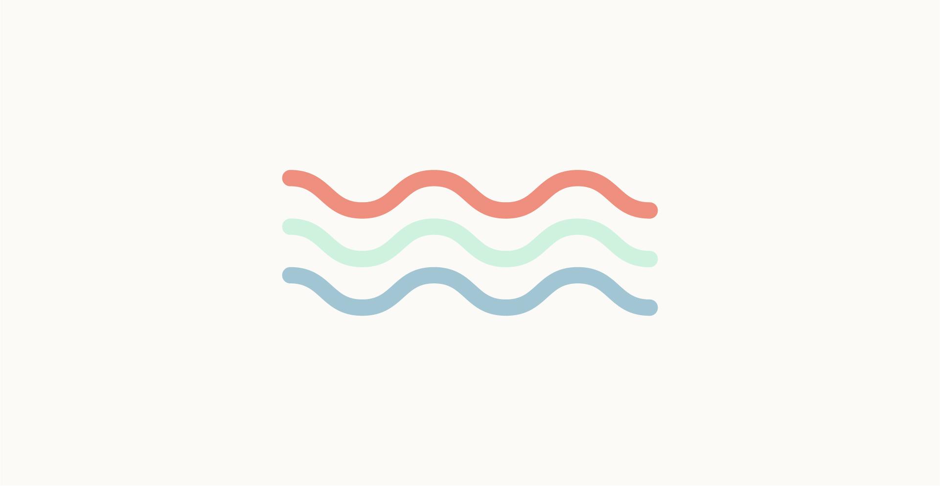 Moodboard del giorno: estate. Palette colori: corallo, verde acqua, celeste. Dal blog di Marianna Milione