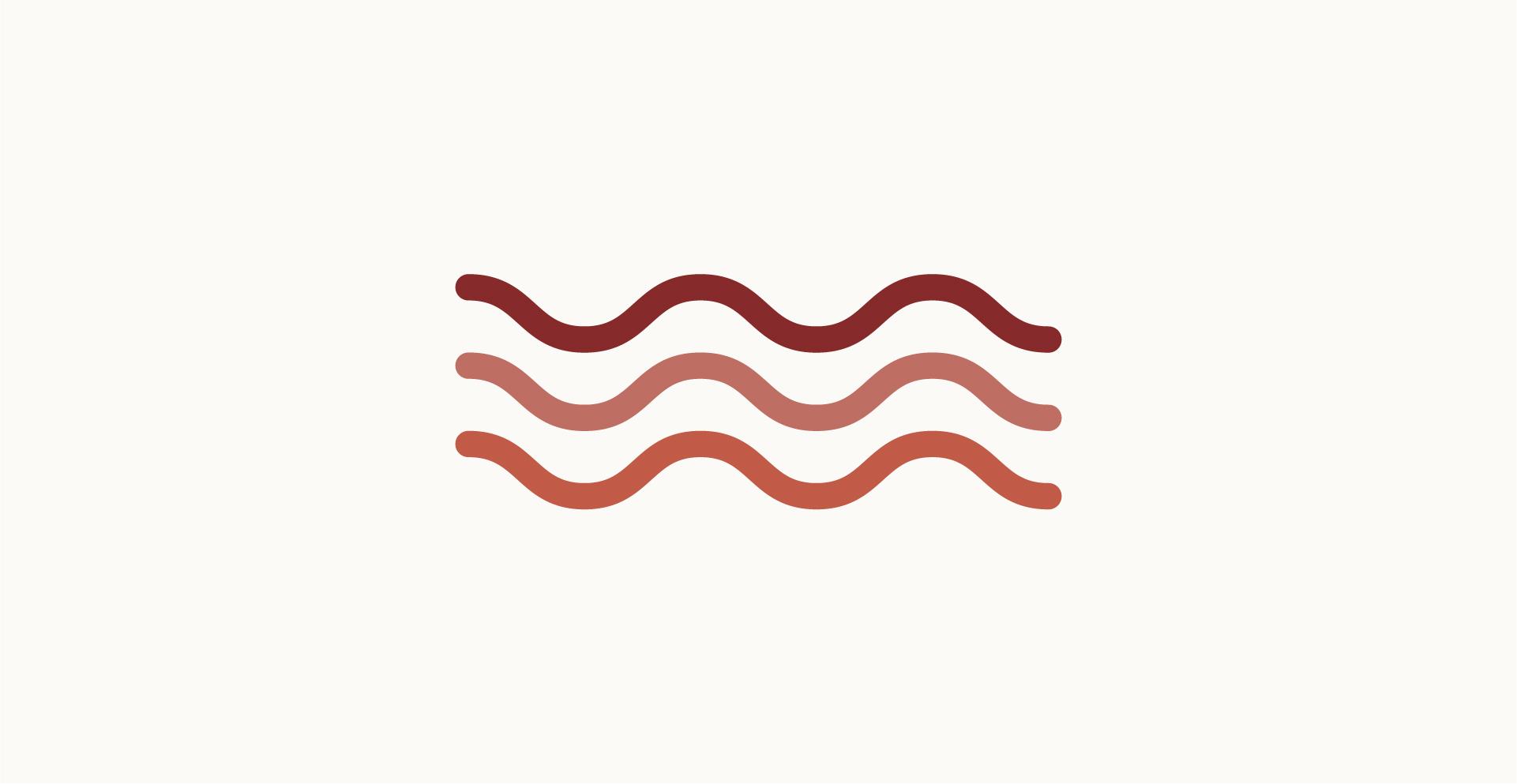 Moodboard del giorno: terracotta. Palette colori: borgogna, rosso tiziano, marrone. Dal blog di Marianna Milione