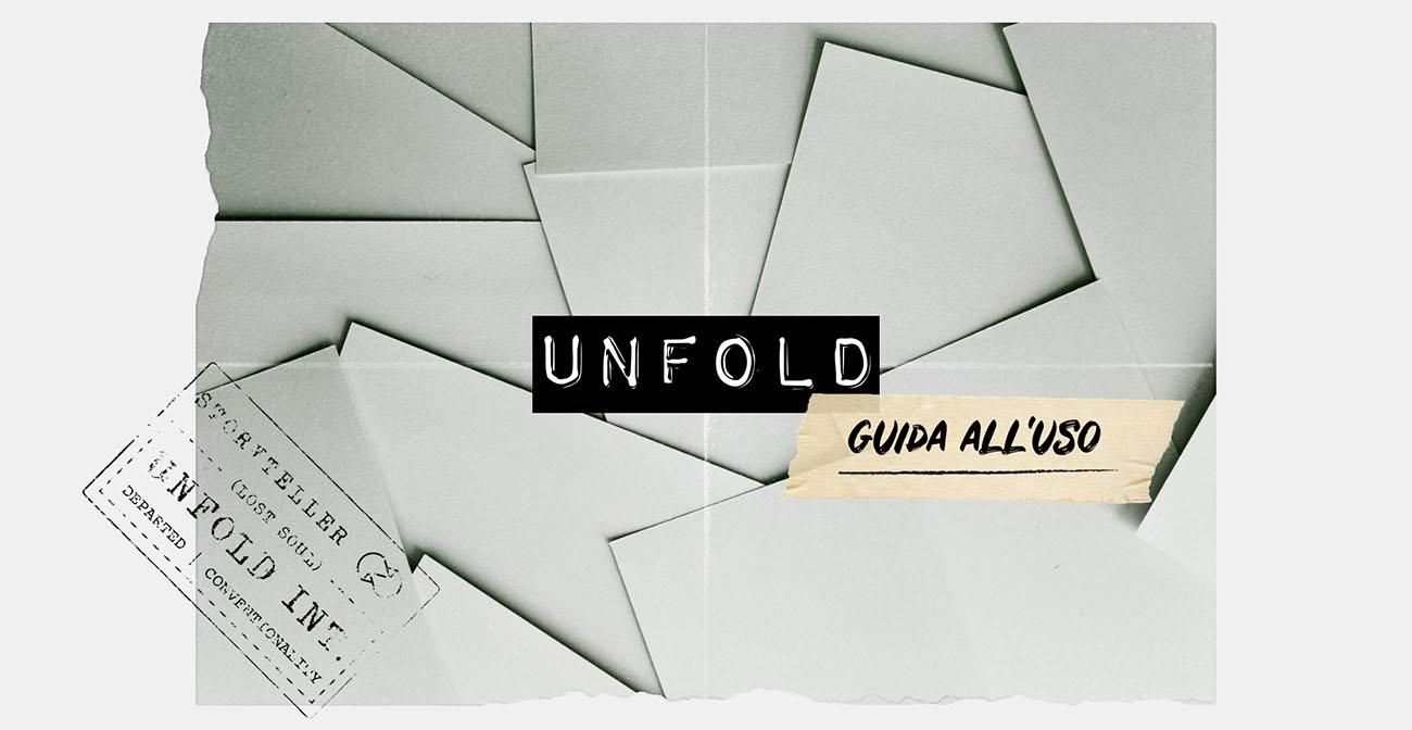 Tutorial su Unfold: come si usa l'app per creare stories per Instagram. Articolo dal blog di Marianna Milione