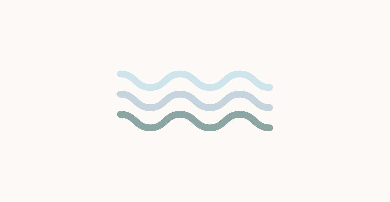 Moodboard del giorno: trasparenza. Palette colori: azzurro cielo, pervinca, verde rame. Dal blog di Marianna Milione