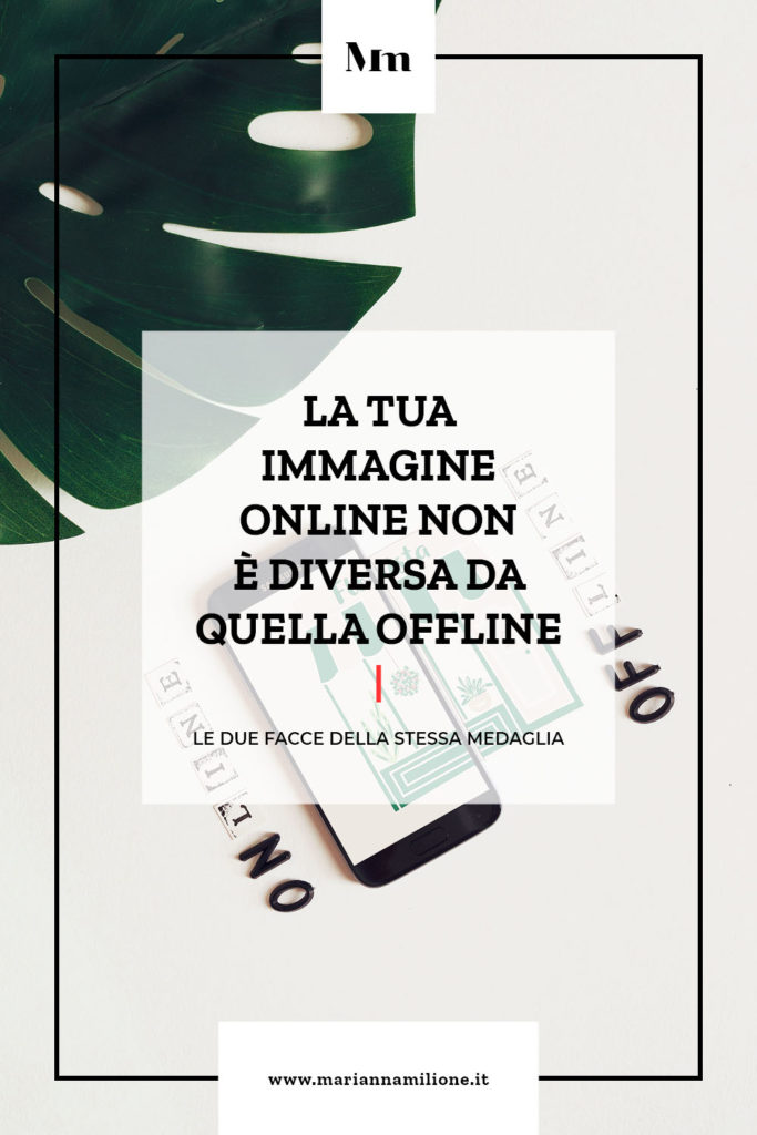 Articolo su curare la propria grafica sia online che offline. Dal blog di Marianna Milione