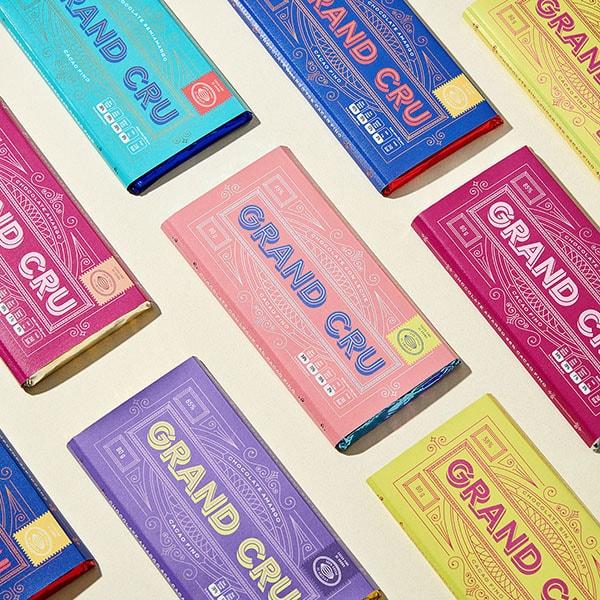 Packaging del cioccolato Grand Cru progettato dallo studio Parámetro Studio. Dal blog di Marianna Milione