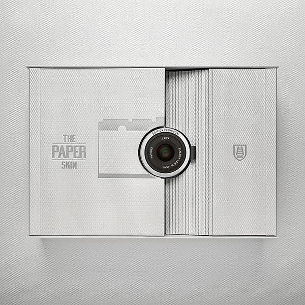 Packaging speciale della fotocamera Leica realizzato da Fedrigoni. Dal blog di Marianna Milione