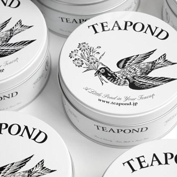 Packaging del tè Teapond. Dal blog di Marianna Milione