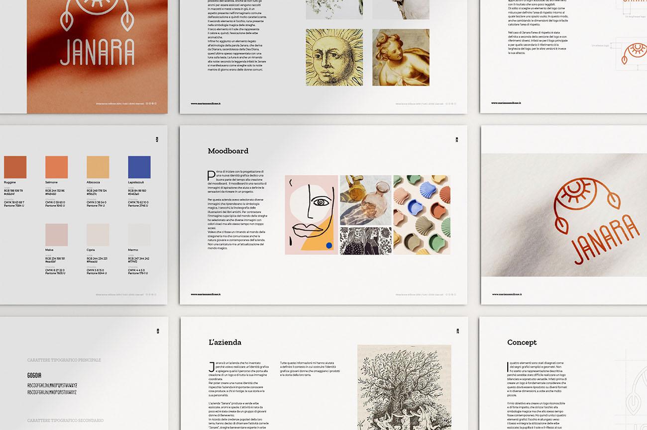 Come nasce l'identità grafica di un'attività? Scopri la creazione della style guide e del logo: presentazione da scaricare iscrivendosi alla newsletter Dal blog di Marianna Milione