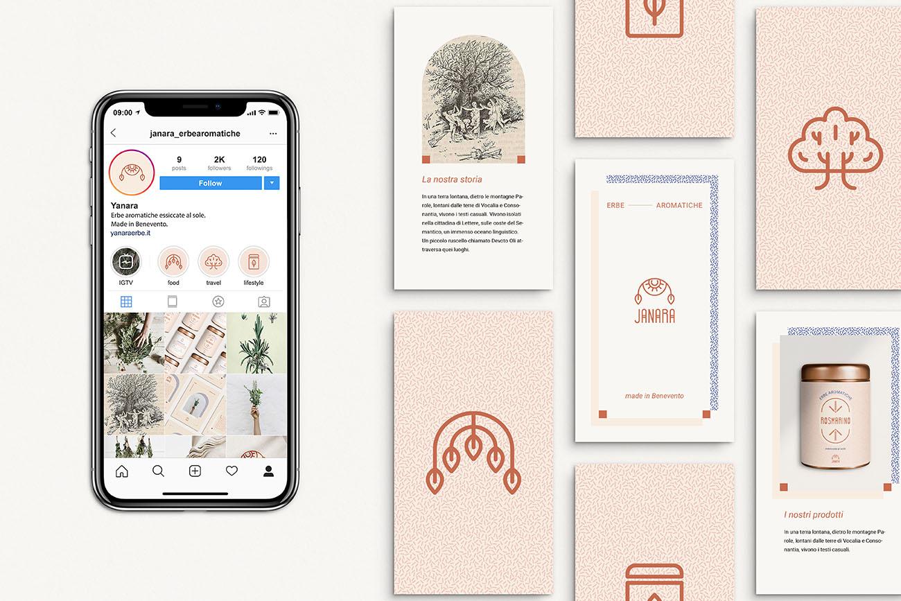 Come nasce l'identità grafica di un'attività? Scopri la creazione della grafica sul web: storie e copertine highlight per Instagram. Dal blog di Marianna Milione