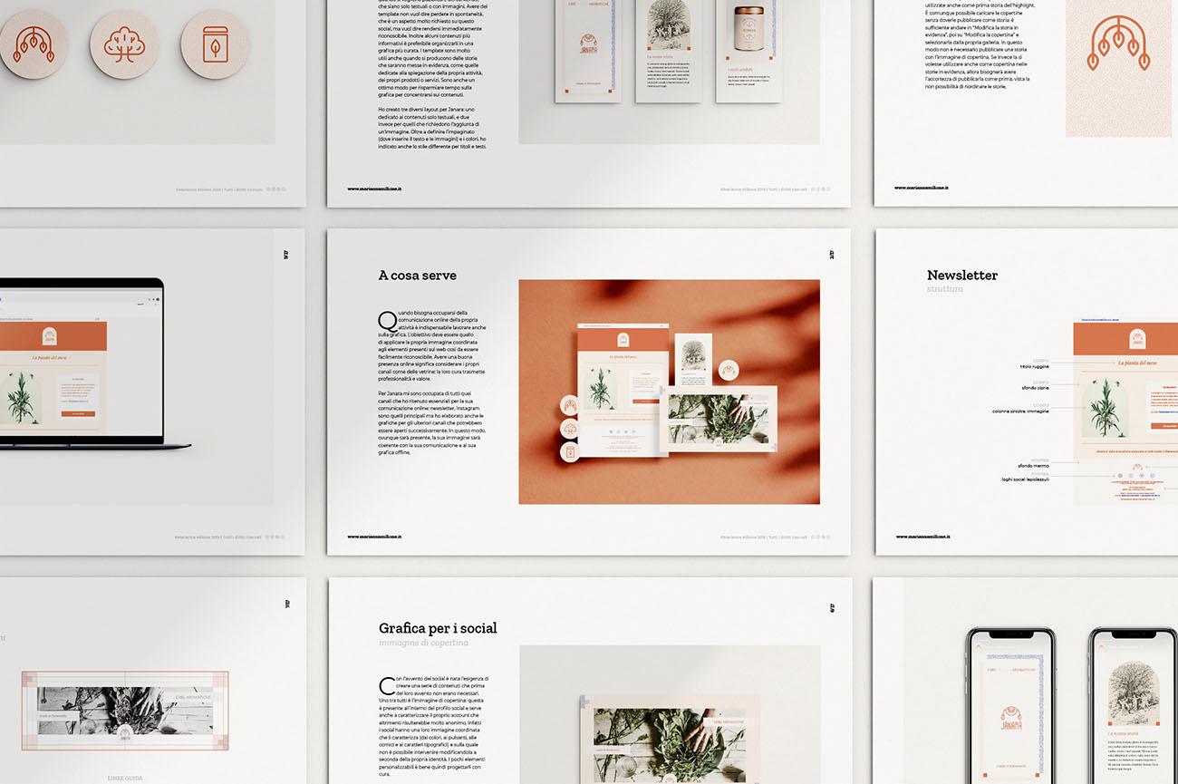 Come nasce l'identità grafica di un'attività? Scopri la creazione della grafica sul web: presentazione da scaricare iscrivendosi alla newsletter. Dal blog di Marianna Milione