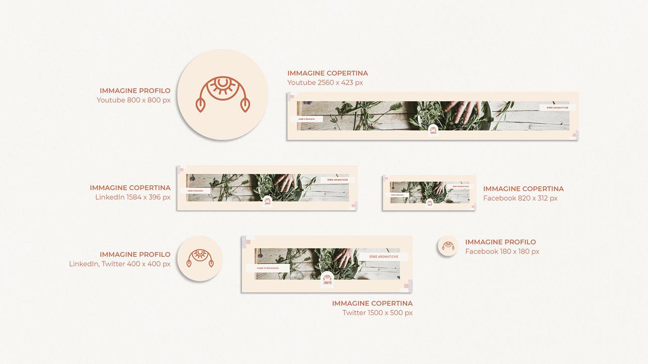 Come nasce l'identità grafica di un'attività? Scopri la creazione della grafica sul web: dimensioni immagine del profilo e di copertina per i social. Dal blog di Marianna Milione