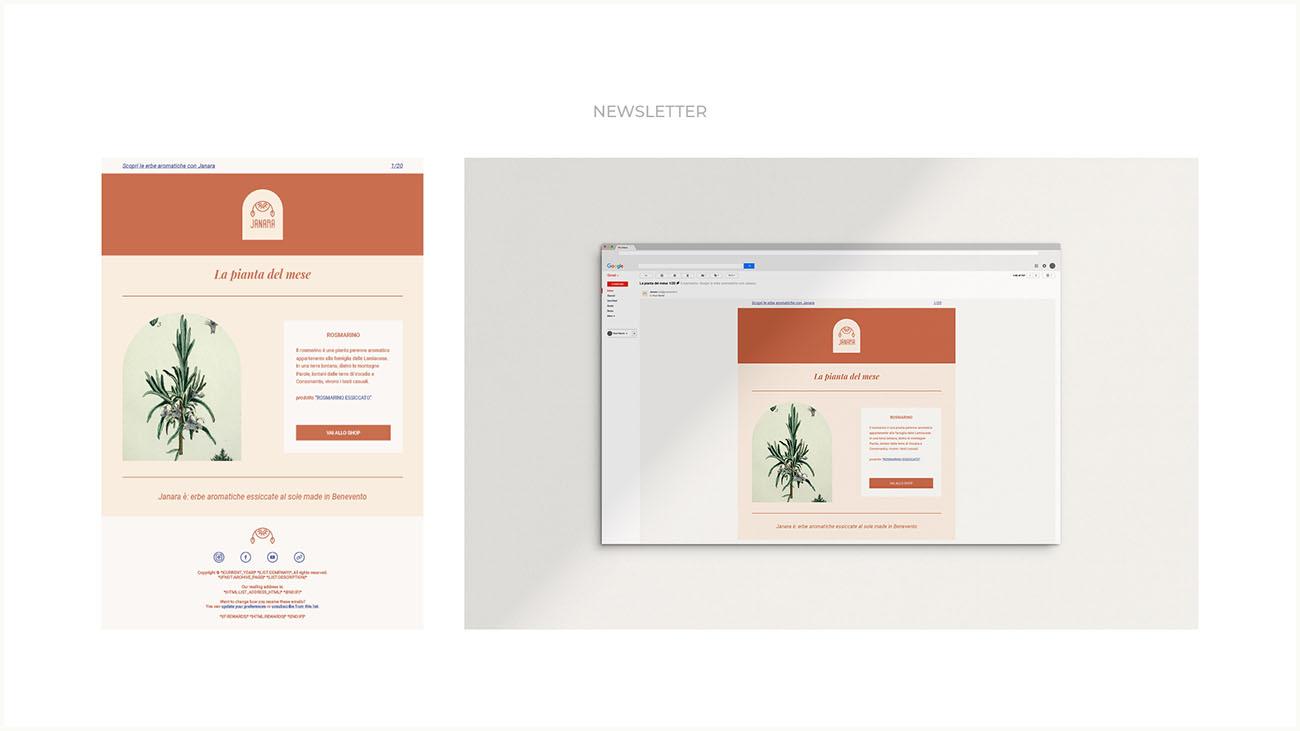Come nasce l'identità grafica di un'attività? Scopri la creazione della grafica sul web: newsletter. Dal blog di Marianna Milione