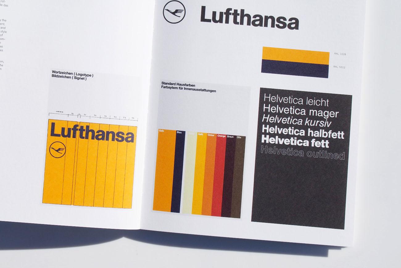 Che cosa è un'identità grafica. Identità di Lufthansa. Dal blog di Marianna Milione