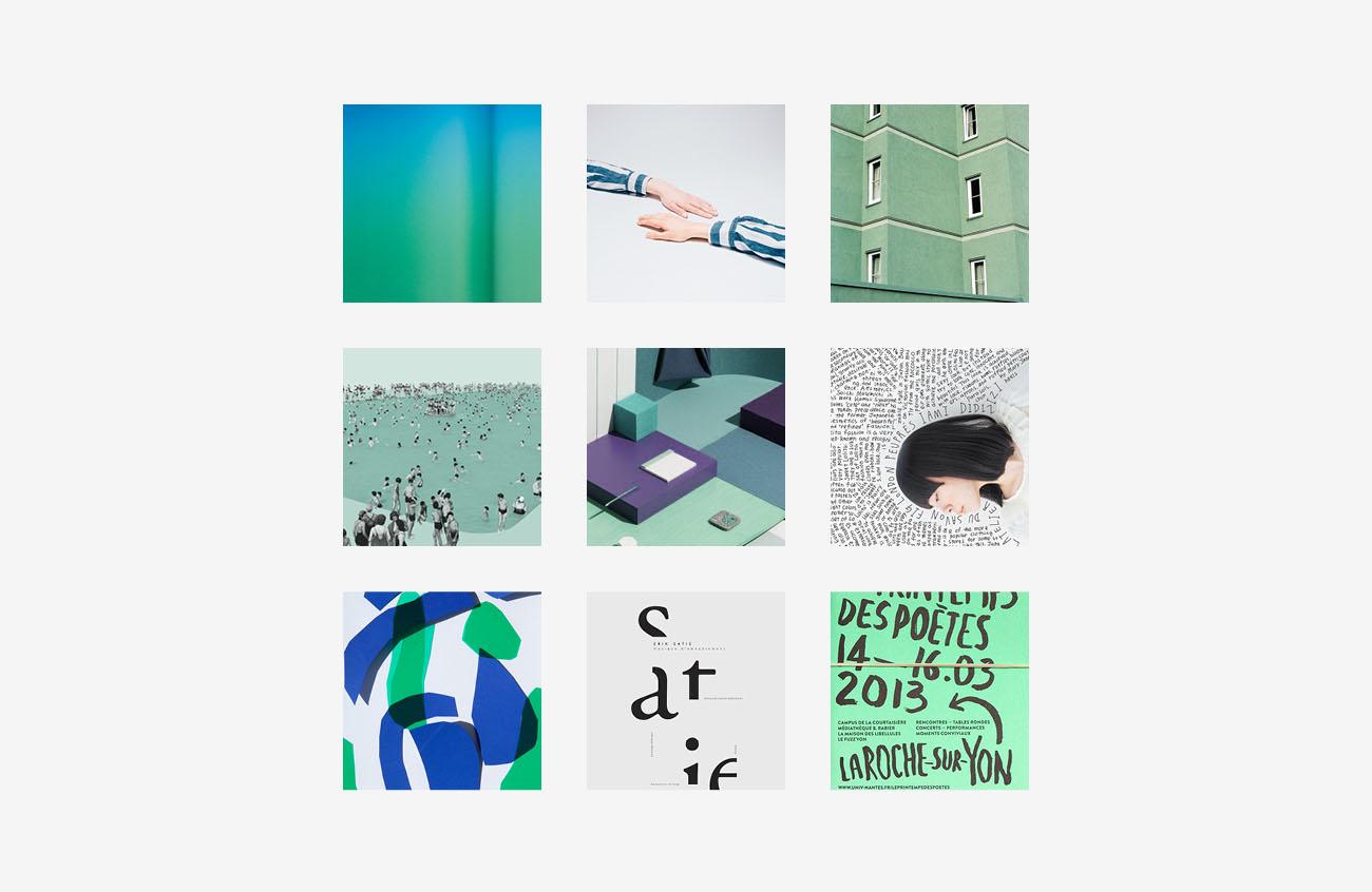 Moodboard realizzata per l'identità grafica di Marilisa Dalla Massara. Progetto realizzato da Marianna Milione.