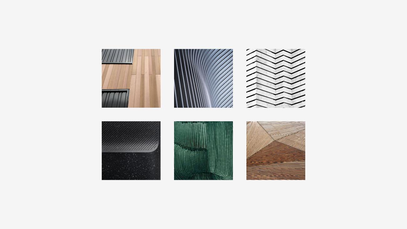 Moodboard realizzata per l'identità grafica di Profilgreen. Progetto realizzato da Marianna Milione.