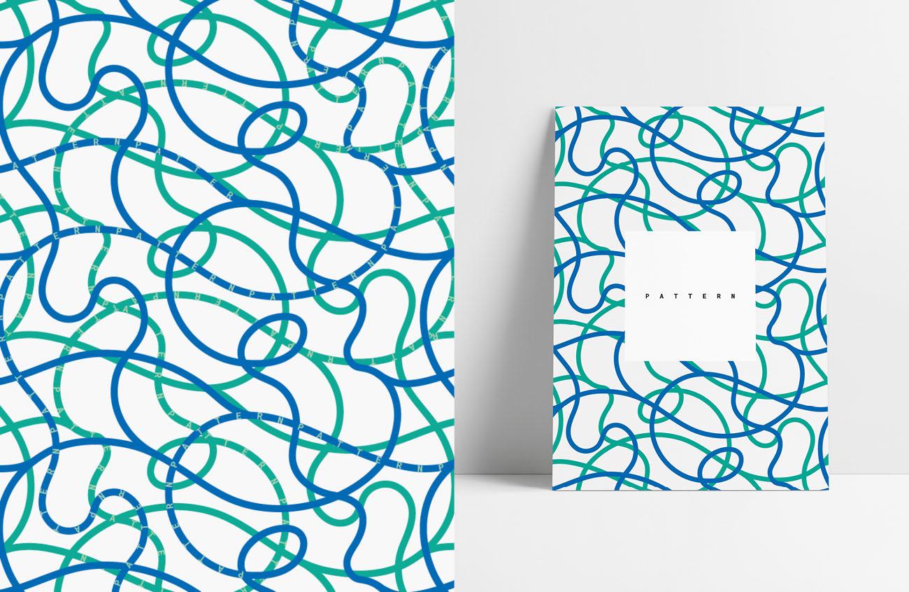 Pattern realizzato per l'identità grafica di Marilisa Dalla Massara. Progetto realizzato da Marianna Milione.