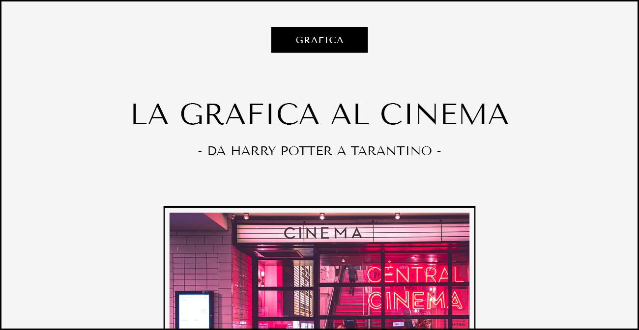 La grafica al cinema. Dal blog di Marianna Milione