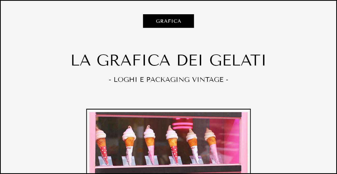 La grafica dei gelati. Dal blog di Marianna Milione